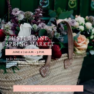 Thistle Lane Spring Market Promo 2